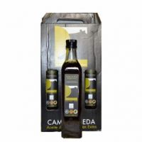 lote de tres botellas de 500 ml