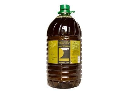aceite virgen extra en botella de 5 l