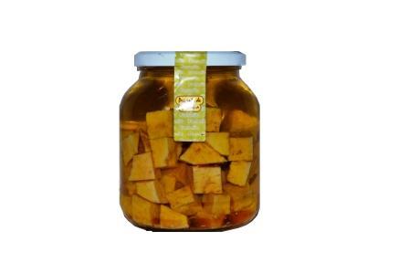 queso de cabra curado en aceite